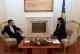 The President of France, Nicolas Sarkozy congratulated President Atifete Jahjaga