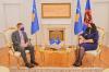 Presidentja Osmani priti në takim Shefin e Zyrës së BE-së, Tomas Szunyog 1
