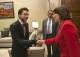 President Atifete Jahjaga met with King Abdullah of the Hashemite Kingdom of Jordan