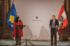 Osmani: Austria remains a strategic partner and one of the closest allies of the Republic of Kosovo