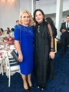 The First Lady of Kosovo attends the official luncheon hosted by the First Lady of the United States of America, Melania Trump