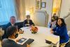 Presidentja Osmani dhe ministrja Gërvalla takuan sekretarin e Përgjithshëm të NATO -s, Jens Stoltenberg