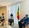 Presidentja Osmani dhe ministrja Gërvalla takuan presidentin e Senegalit, Macky Sall