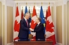 President Thaçi and the Canadian Minister sign the Letter of Good Intent for the Investment Protection Agreement