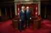 Presidenti Thaçi pritet në Senatin Kanadez, bisedon me kryesuesin