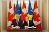 Presidenti Thaçi dhe ministri kanadez nënshkruajnë Letrën e Qëllimit të Mirë për Marrëveshjen për Mbrojtje të Investimeve