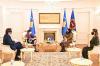 U.d. Presidentja Osmani priti në takim Ambasadoren e Francës, znj. Marie-Christine BUTEL