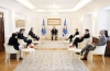 President Thaçi discussed the steps undertaken towards forming of the new Government with the Ambassadors of the Quint countries