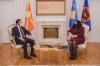 Presidentja Osmani ka pritur në takim ministrin e Jashtëm të Maqedonisë së Veriut Bujar Osmani_1