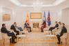 Presidentja Osmani ka pritur në takim ministrin e Jashtëm të Maqedonisë së Veriut Bujar Osmani_3