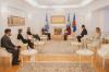 Ambasadori zviceran Thomas Kolly ia përcjell Presidentes Osmani urimin e Presidentit të Zvicrës