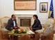 Predsednica Atifete Jahjaga je dočekala ministra spolnjih poslova Republike Češke  Karela Schwarzenberga