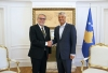 Presidenti Thaçi priti udhëheqësin e EULEX-it Thran, biseduan për vazhdimin e bashkëpunimit