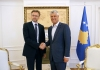 President Thaçi received the Norwegian Ambassador at a farewell meeting