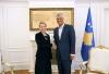 Presidenti Thaçi priti shefen e re të UNDP-së, Maria Suokko