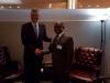 President Thaçi met in New York with the President of Guyana, David Arthur Granger