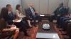 Presidenti Thaçi takoi në Nju Jork Kryeministrin e Togos, Komi Sélom Klassou