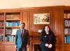 Presidentja Osmani u takua me kryeministrin e Luksemburgut, Xavier Bettel