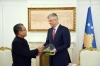Presidenti Thaçi merr mirënjohje nga Aleanca Ungjillore Botërore për promovim të harmonisë fetare