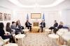 Presidenti Thaçi priti zëvendës-ndihmës sekretarin e shtetit amerikan Palmer: SHBA-ja mbështet dialogun Kosovë-Serbi