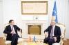 Presidenti Thaçi priti Ministrin e Mbrojtjes të Malit të Zi,  Predrag Boškovic