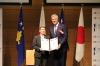 Presidenti Thaçi dekoroi miqtë japonezë që promovuan Kosovën
