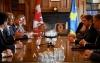 Presidenti Thaçi takon liderin e opozitës kanadeze, e falënderon për qëndrimin unik ndaj Kosovës