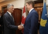President Thaçi meets the Canadian opposition leader, thanks him for the unique attitude towards Kosovo