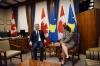 Presidenti Thaçi takoi Ministren Freeland, bisedojnë për bashkëpunim ndërkombëtar