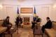 Presidenti Pacolli prit shefin e Zyrës Diplomatik të Belgjikës në Kosovë, Alan Van Gucht