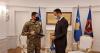 u.d. Presidenti, Glauk Konjufca priti në takim komandantin e KFOR-it, gjeneralmajor Franco Federici