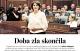 """Presidentja Jahjaga në """"Mlada Fronta Dnes"""": Epoka e së keqes ka përfunduar"""