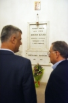 President Thaçi visited the house of Jeronim De Rada in Macchia, Calabria and paid homage at his grave
