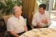 Predsednik Sejdiu se obraduje skupa sa Predsednikom Topi i Premijerom Berisha za odluku MSP