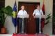 Presidenti Sejdiu u priti sot, në ambientet e Vilës 30, në Tiranë, nga Kryeministri i Shqipërisë, Sali Berisha.