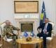 Presidenti Thaçi priti në takim lamtumirës komandantin e KFOR-it, Guglielmo Luigi Miglietta