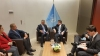 President Thaçi met in New York with the President of the UN General Assembly, Miroslav Lajcák