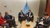 Presidenti Thaçi takoi në Nju Jork Presidentin e Asamblesë së Përgjithshme të KB, Mirosllav Llajçak