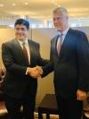 Presidenti Thaçi takoi Presidentin Quesada të Kosta Rikës