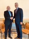 President Thaçi met with President Maurer of Switzerland