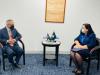 Presidentja Osmani dhe ministrja Gërvalla takuan kryeministrin e Belizesë, John Briceño