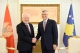 President Thaçi received the new Ambassador of Montenegro in Kosovo, accepted his credentials