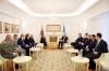 Presidenti Thaçi priti Ministren e Mbrojtjes së Shqipërisë, flasin për transformimin e FSK-së në ushtri