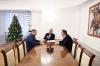 Presidenti Thaçi takoi kryesuesit e Ekipit Negociator