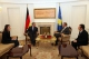 President Pacolli receives the Republic of Germany's Ambassador to Kosovo Hans Dieter-Steinbah