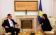 President Jahjaga received the Ambassador of Ireland non-resident for Kosovo, Kevin Dowling