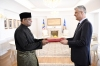 President Thaçi received the credentials of the new Ambassador of Malaysia