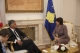 President Jahjaga received the President of the Swiss Confederation, Mr. Didier Burkhalter