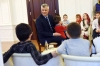 President Thaçi visits several schools of Kosovo on the verge of the completion of the school year 2016/2017