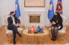 Predsednica Osmani dočekala na sastanku švajcarskog poslanika Cédrica Wermutha